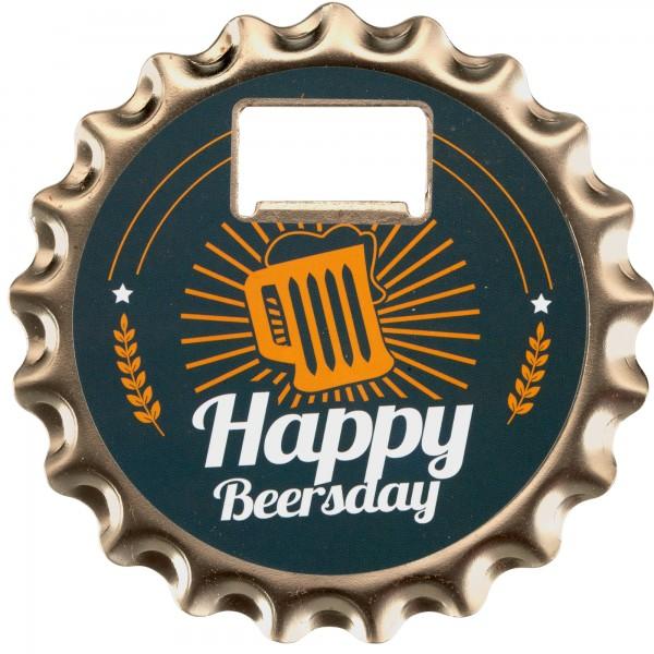Bieröffner/Untersetzer/Magnet-Beersda