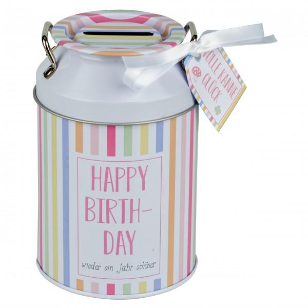 "Glückskännchen ""Happy Birthday"""