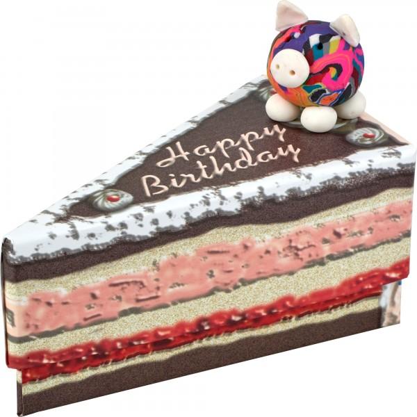 Geschenkschachtel Swiggie/Happy Birthday