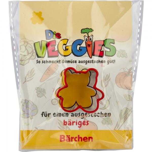 Die Veggies - Ausstecher - Bärchen