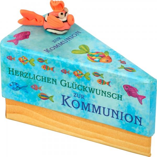 """Tortenstück """"Kommunion"""""""