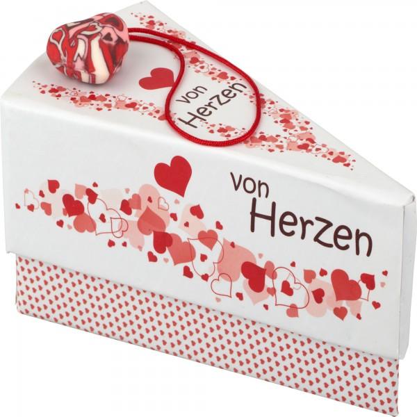 Geschenkschachtel Herz/Von Herzen