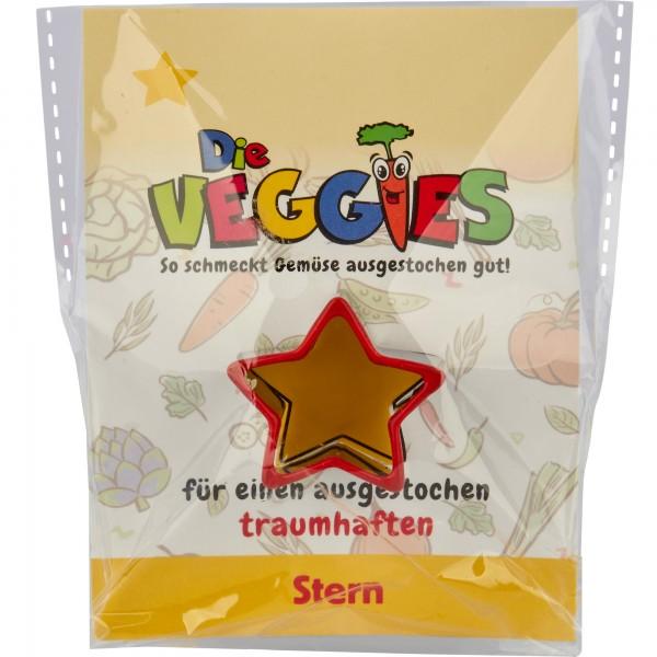 Die Veggies - Ausstecher - Stern