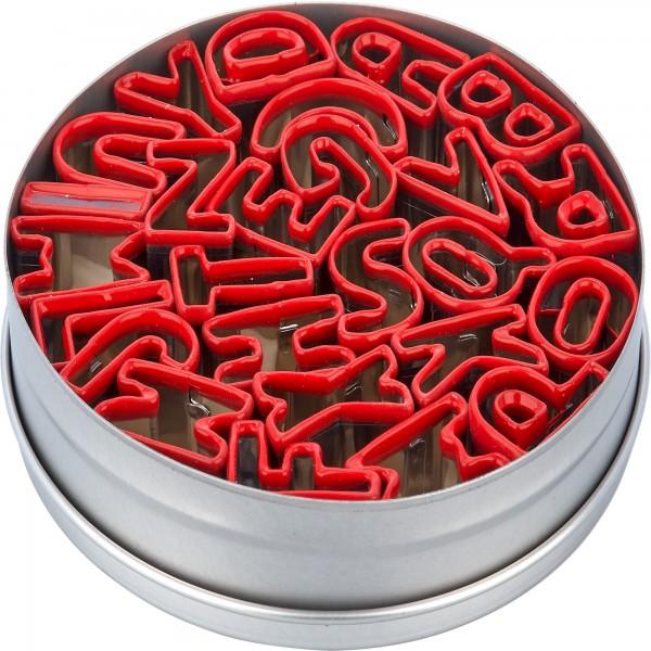 Veggies Buchstaben-Set in Dose