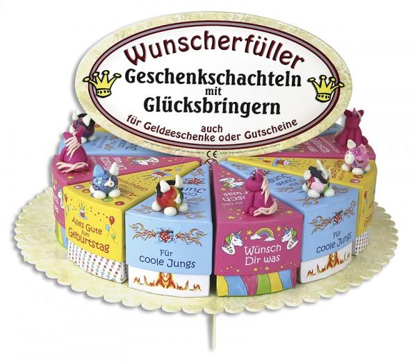 Kindergeschenkschachtel Set, 24 Stk, 4-fach sort