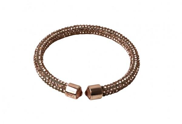 VE Armband Crystalshine nude, einlagig (6 Stk.)