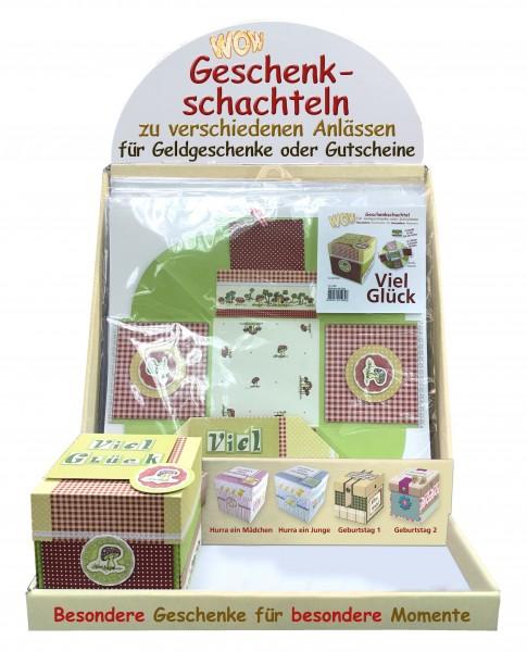 WOW-Geschenkschachtel Set inkl. Display