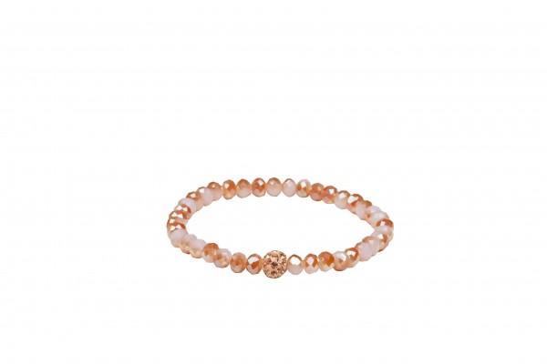 VE Armband Indian Sun sorbet, Petit Glass (3 Stk.)