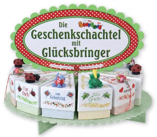 Geschenkschachtel-Set White inkl Display, 24 Stk, 4-fach sort
