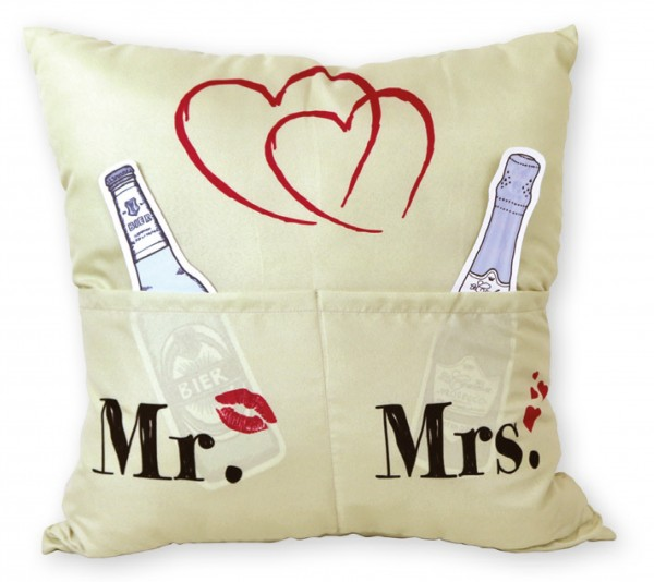 Sofahelden Kissen Mr. & Mrs.