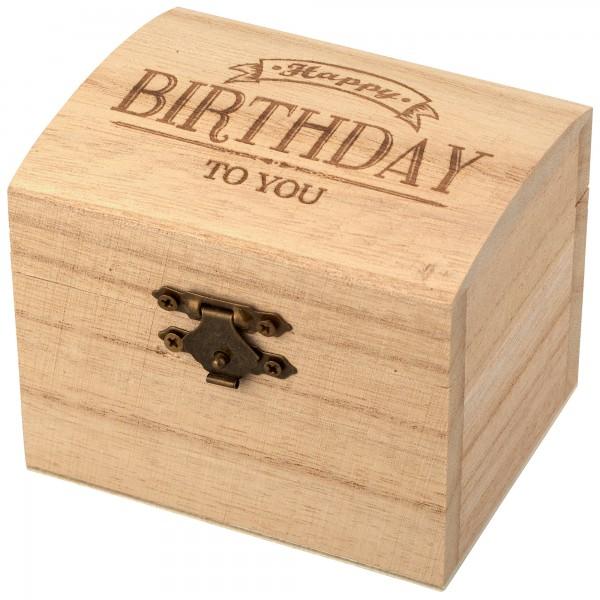 """Schatzkiste """"Happy Birthday"""""""