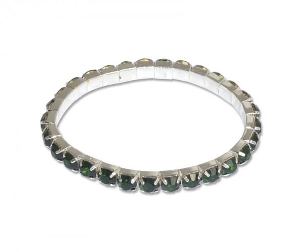 VE Armband Royal Jade (grün/silber) (3 Stk.)