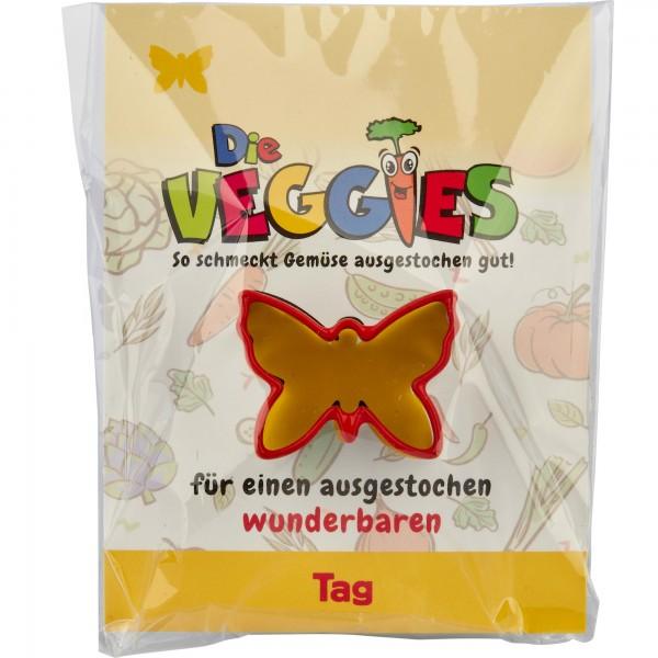Die Veggies - Ausstecher - Schmetterling