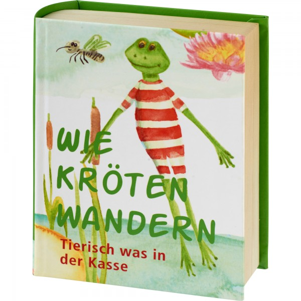 """Geschenkschachtel """"Buch"""" - Kröten wandern"""