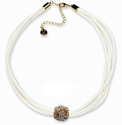 VE Kette African Shine braun/gold, Ball (3 Stk.)