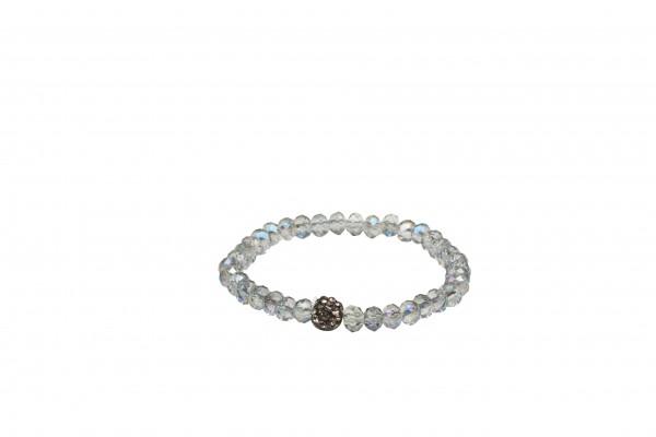VE Armband Bahian Spirit blau/silbe, Petit Glass (3 Stk.)