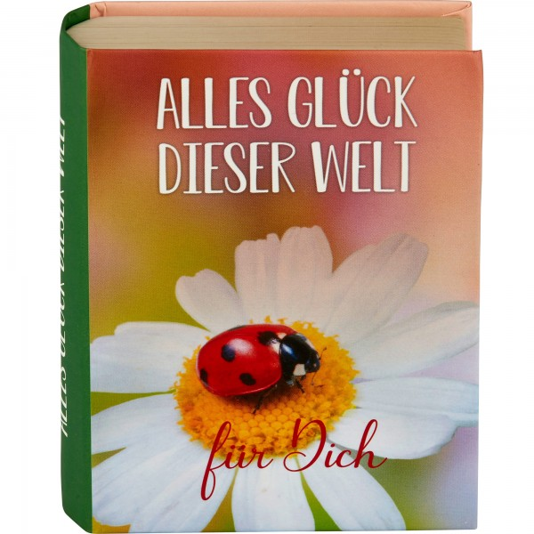 """Geschenkschachtel """"Buch"""" - Alles Glück …"""