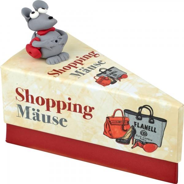Tortenstück- Shoppingmäuse
