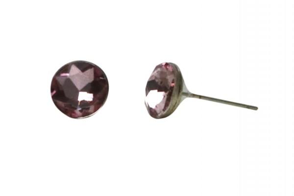 VE Ohrstecker Crystalshine lila (5 Stk.)
