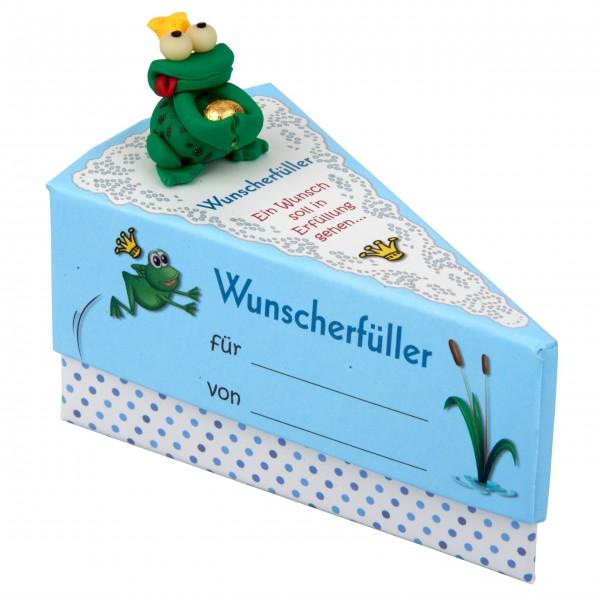 """Geschenkschachtel Wunschfrosch """"Wunschererfüller """""""
