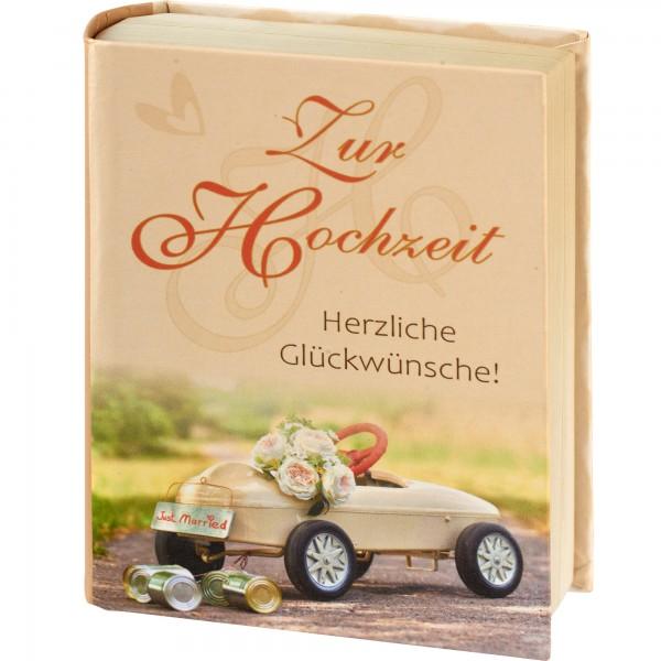 """Geschenkschachtel """"Buch"""" - Zur Hochzeit"""