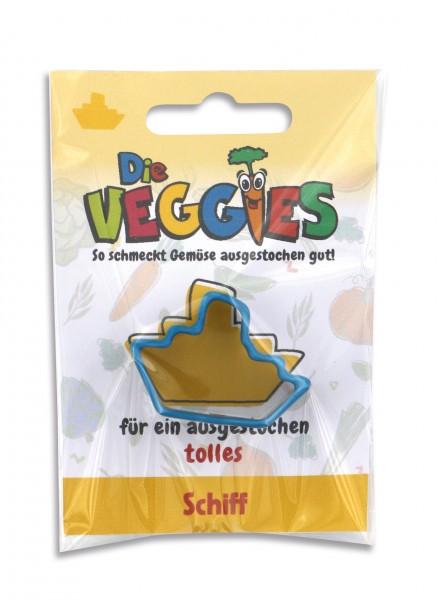 Die Veggies - Ausstecher - Schiff